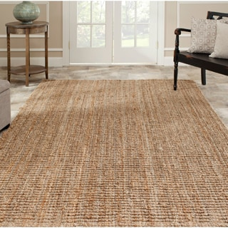 Hand-woven Weaves Natural-colored Fine Sisal Rug (4&#39; x 6&#39;)