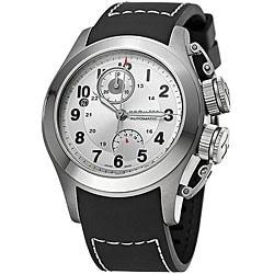Hamilton Khaki Navy Frogman Men's Titanium Rubber Watch