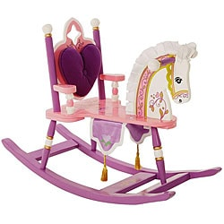 Kiddie-Ups Princess Rocking Horse