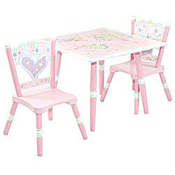 Fairy Wishes 3-piece Table and Chair Set