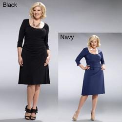 Kiyonna Clothing Women's Plus Size 'Flaunt' Cocktail Dress