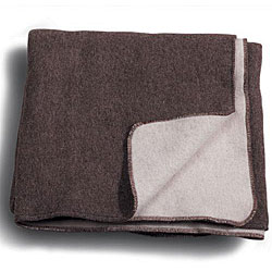Eco Wool Reversible Solid Blanket (Ecuador)