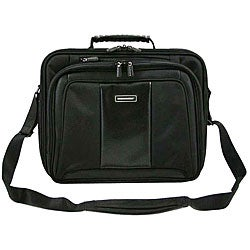 Hummer Ruggedized Black Business Portfolio Laptop Case