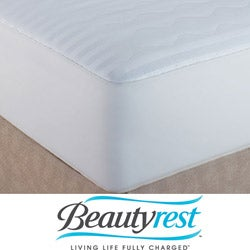 Beautyrest 400 Thread Count Egyptian Cotton Mattress Pads (Pack of 2)