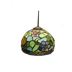 Tiffany-style Floral Hanging Light