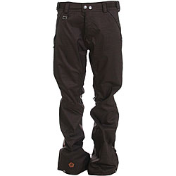 Sessions Men's Brawl Hershey Heather Snowboard Pants