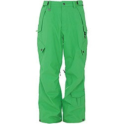 Sessions Men's Achilles 'Krypto Green' Snowboard Pants