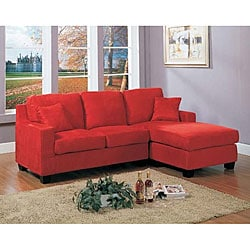 Red Anthony Sectional Sofa