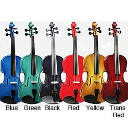 Bright Color Performance Violin Package