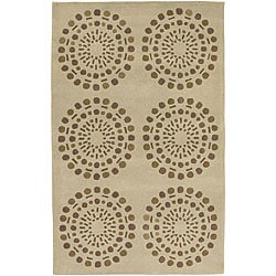Hand-tufted Vente New Zealand Wool Rug (9' x 13')