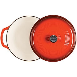 Lodge Red Enamel 6-quart Cast Iron Dutch Oven
