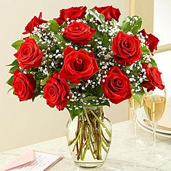 Bouquet of Red Roses (One Dozen)