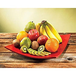 Large Organic Fruit Sampler Gift Basket.