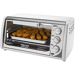 Black & Decker TRO390W Classic Countertop Broiler Oven (Refurbished)