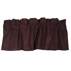 Fairview Plum Valance Pair (54 in. x 18 in.)
