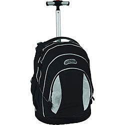 J World Kid&#39;s Black Rolling Ergonomic Backpack