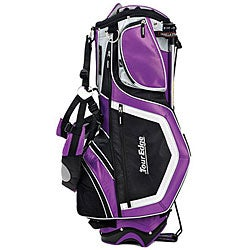 Tour Edge GeoMax Deluxe Purple Golf Stand Bag