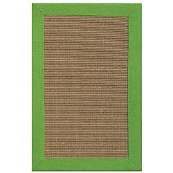 Hand-woven Beige Sisal/ Jute Rug (9' x 12')