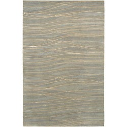 Julie Cohn Hand-knotted Royal Abstract Design Wool Rug (8' x 11')