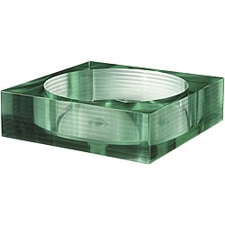 Segmented Tempered Glass Square Sink Vessel