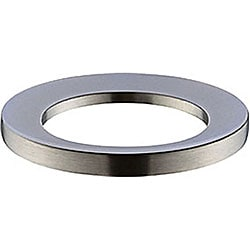 Brushed Nickel Mounting Ring for Above-counter Vessel Sink