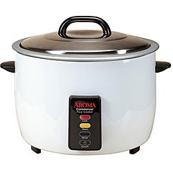 Aroma 30-cup Cooked Capacity Commercial Pot-style Rice Cooker