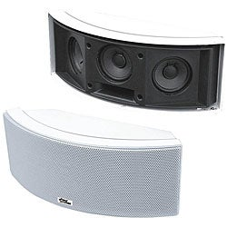 Pyle 500-Watt 3-Way &#39;White&#39; Indoor/ Outdoor Center Channel Speaker
