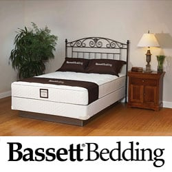Bassett Florham Plush Twin-size Mattress Set