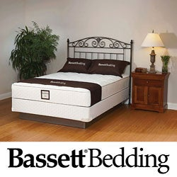 Bassett Florham Plush Full-size Mattress Set