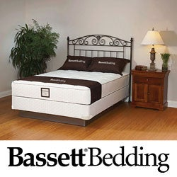 Bassett Florham Plush California King-size Mattress Set