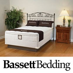 Bassett Dawnwood Euro-top Full-size Mattress Set