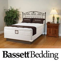 Bassett Dawnwood Euro-top King-size Mattress Set