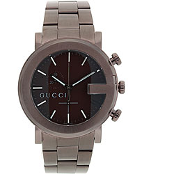 Gucci Men's 101 Series Vintage Brown Steel Watch