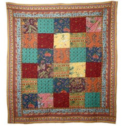 Nora Patchwork Quilt (India)