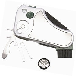 Silvertone Golf Buddy Multifunction Tool Accessory with Belt Clip