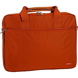 J World Orange 14-inch Laptop Briefcase