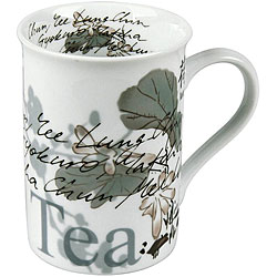 Konitz 'Chai Tea' White 10-oz Mugs (Set of 4)