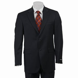 Austin Reed Men's Solid Navy Suit