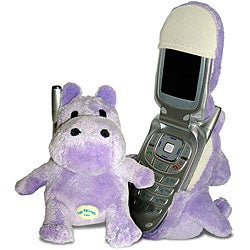 Fun Friends Plush Animal Flip Cell Phone Cover - Henry (Hippo)