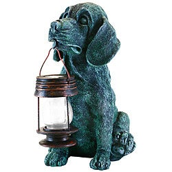 Generic LED Solar Light Dog Lantern