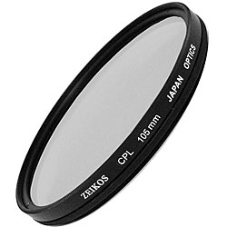 Zeikos 105mm MC Circular Polarizer Glass Filter