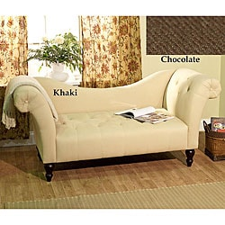 Simple Living Chloe Roll Arm Chaise