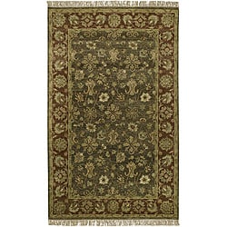 Hand-knotted New Zealand Wool Rug (5' x 8')
