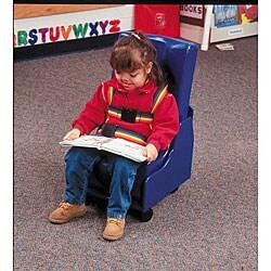 Skillbuilders Wood Base 2-piece Mobile Floor Seat (X-large)
