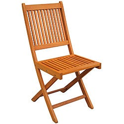 Royal Tahiti Folding Chairs (Set of 2)