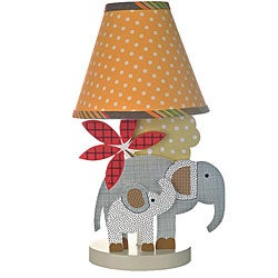 Cotton Tale Elephant Brigade Decor Lamp