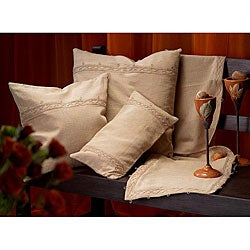 Worldstock Posh 72-inch Tan-colored Cotton/Jute Table Runner (India)