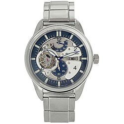 Orient Men's OrientStar Blue Automatic Skeleton Watch