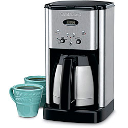 Cuisinart DCC-1400FR Programmable Thermal 10-cup Coffee Maker (Refurbished)