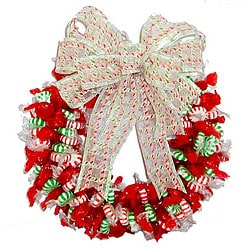 Spearmint/ Peppermint/ Cinnamon Candy Wreath